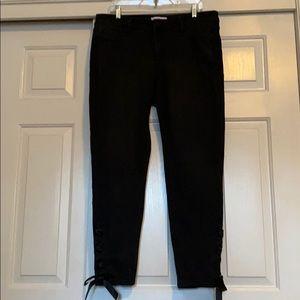 Plus Size Lane Bryant Skinny Ribbon Ankle Jeans